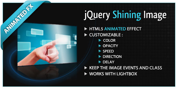 jQuery Shining Image PHP Script Download