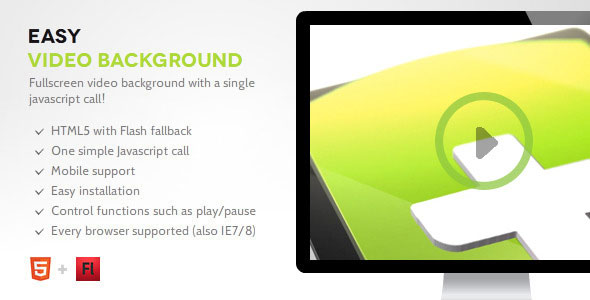 Easy Video Background PHP Script Download