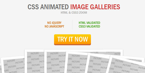 CSS Animated Image Galleries PHP Script Download