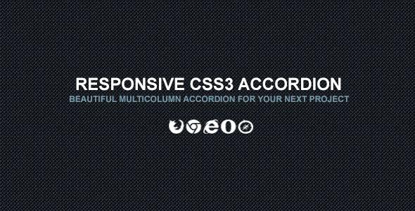 CSS3 Vertical & Horizontal Accordion PHP Script Download