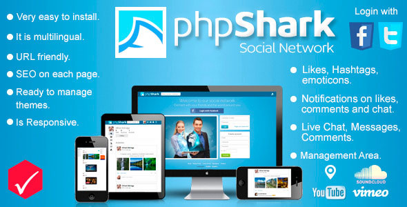 phpShark – Social Networking Platforms PHP Script Download