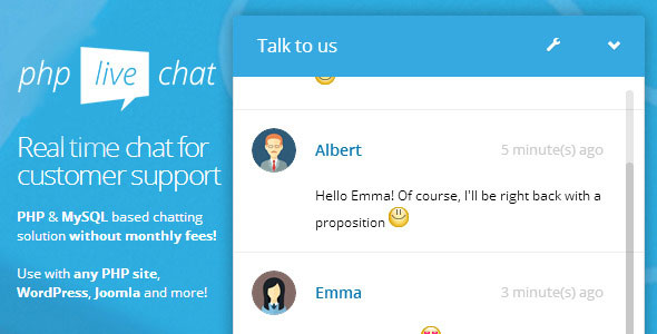 PHP Live Support Chat PHP Script Download