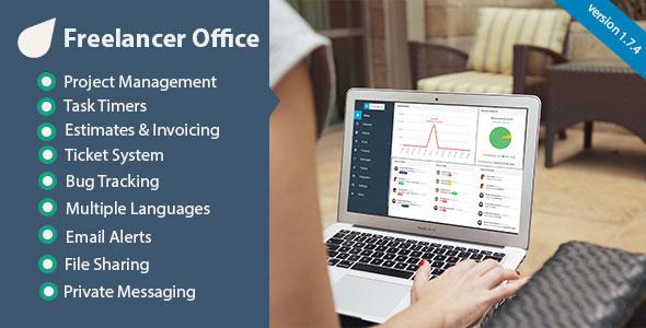 Freelancer Office PHP Script Download