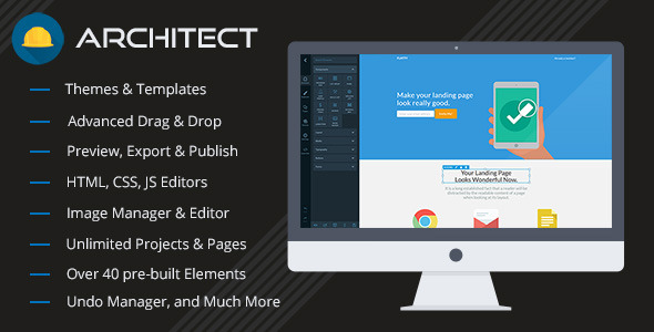 Architect – HTML and Site Builder PHP Script Download
