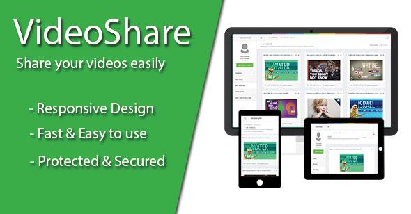 VideoShare – Video Sharing Platforms PHP Script Download