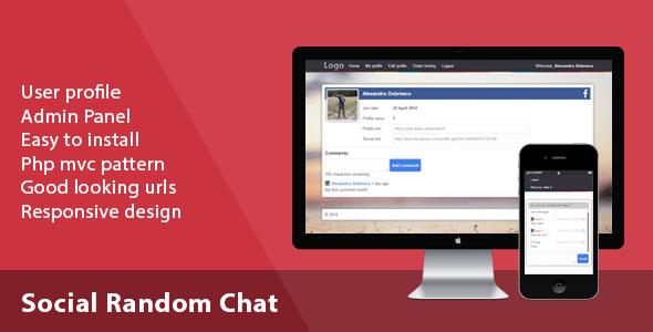 Social Random Chat PHP Script Download
