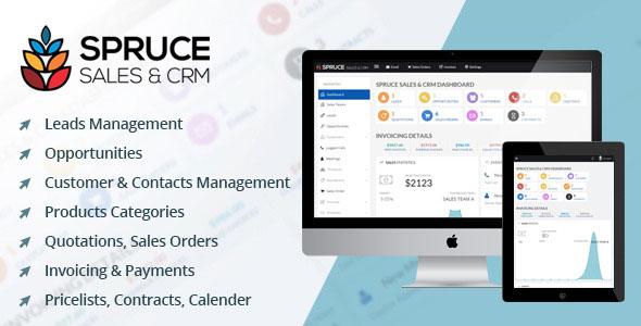 Spruce Sales & CRM PHP Script Download