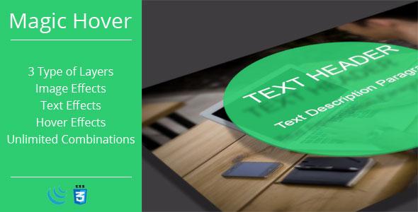Magic Hover – JavaScript Plugin PHP Script Download
