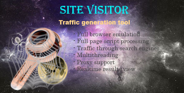 Site Visitor – Traffic generation tool PHP Script Download