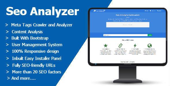Seo Analyzer PHP Script Download