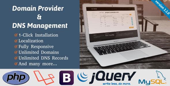 Domain Provider & DNS Management PHP Script Download