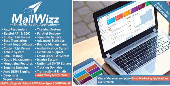 MailWizz – Email Marketing Application v1.3.5.8 PHP Script Download