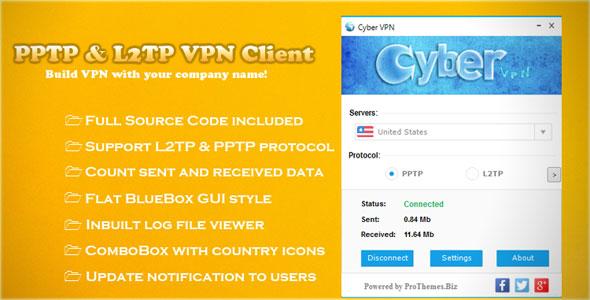 PPTP & L2TP VPN Client PHP Script Download