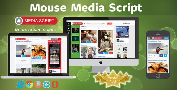 Mouse Media Script PHP Script Download