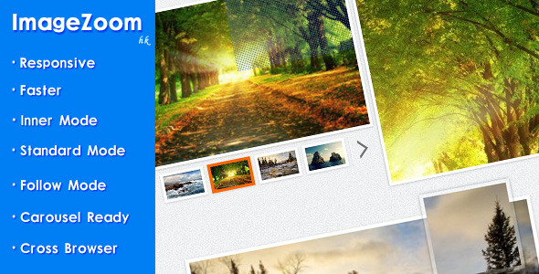 ImageZoom – Responsive jQuery Image Zoom Plugin PHP Script Download