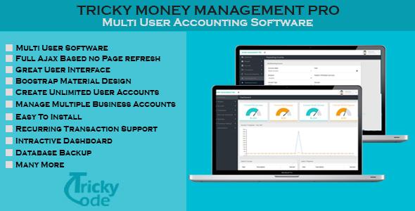 Money Management Pro PHP Script Download