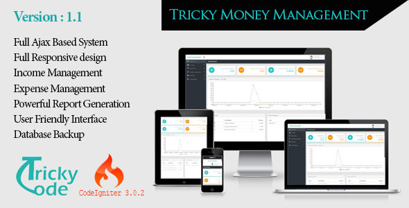 Tricky money Management 1.1 PHP Script Download