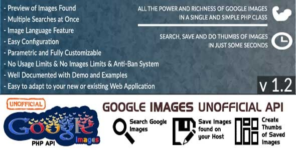 Google Images – Unofficial API PHP Script Download