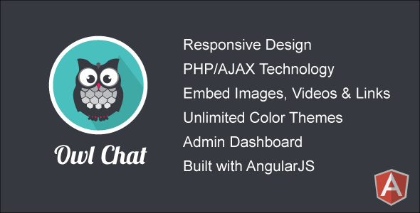 Owl Chat v2.0 – Responsive Chat Community PHP Script Download