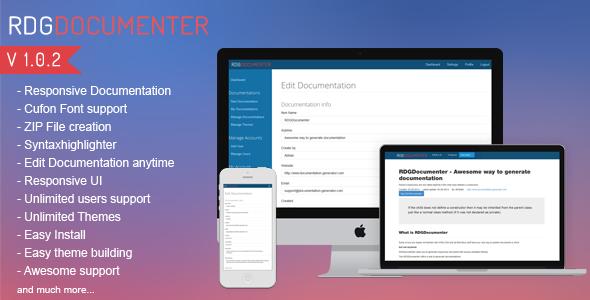 Responsive Documentation Generator v1.0.2 PHP Script Download