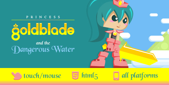 Princess Goldblade and the Dangerous Waters PHP Script Download
