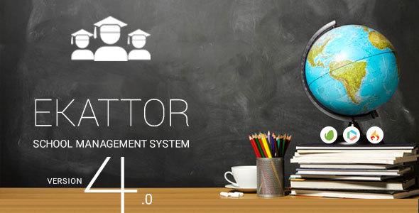 Ekattor School Management System Pro v4.0 PHP Script Download