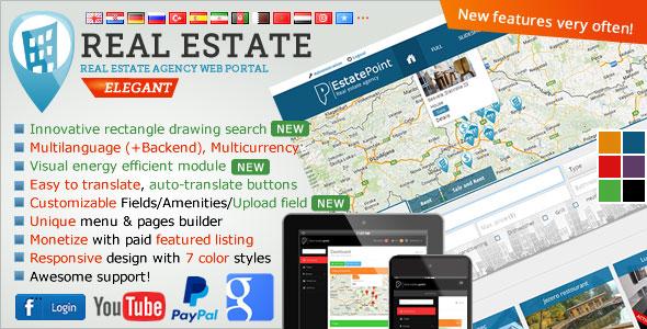 Real Estate Agency Portal v1.5.8 PHP Script Download