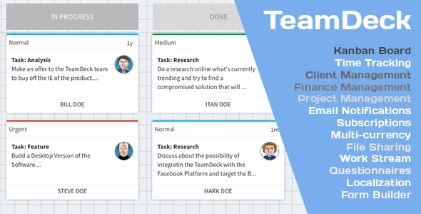 Freelance Team Office with Kanban PHP Script Download