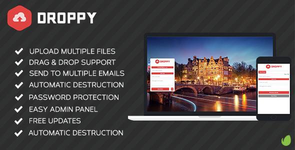 Droppy v1.4.0 PHP Script Download