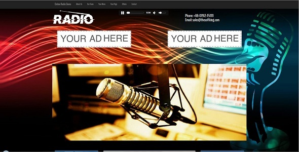 Streamo – Online Radio And Tv Streaming CMS PHP Script Download