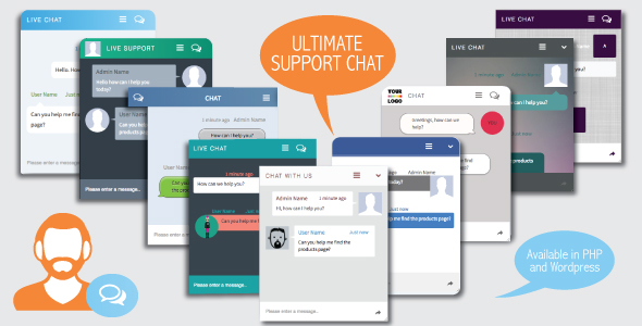 Ultimate Support Chat – PHP Live Chat PHP Script Download