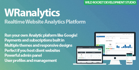 WRanalytics – Realtime, Multiuser Website Analytics Platforms PHP Script Download
