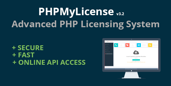PHPMyLicense – Advanced PHP Licensing System PHP Script Download