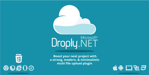Droply.net – minimalist responsive large digital file uploade PHP Script Download