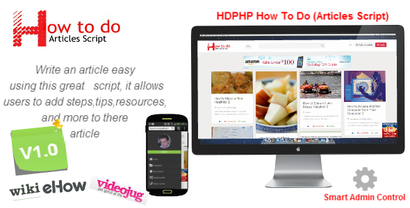 HDPHP How To Do (Wikihow Script) – Sharing Site PHP Script