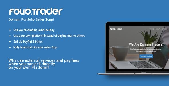 FolioTrader – Domain Portfolio Seller Script PHP Script Download