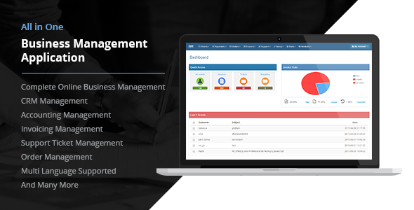 All in One Business Management Application PHP Script Download