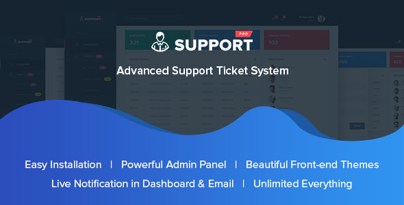 SupportPro – Advanced Support Ticket System PHP Script Download