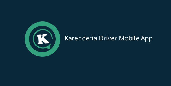 Karenderia Driver Mobile App PHP Script Download