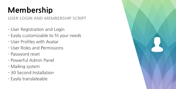 321 Membership – User Login, Membership and User Management PHP Script Download