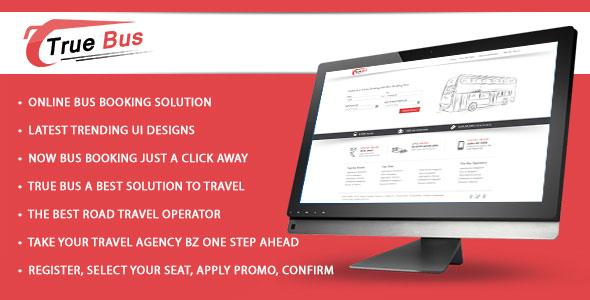 True Bus – Online Bus Booking PHP Script Download