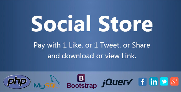 Social Store – Pay with Action in Social Network PHP Script Download