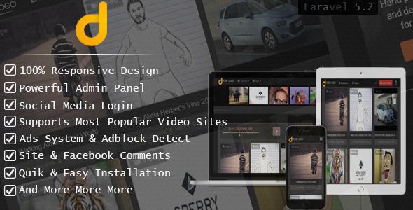 Darky v1.2.1 – Viral Media Sharing Script PHP Script Download