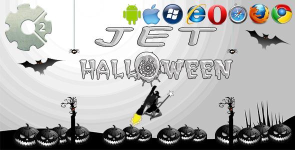 Jet Halloween HTML5 Game PHP Script Download