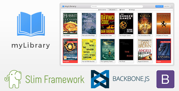 myLibrary – Books Library Management System PHP Script Download