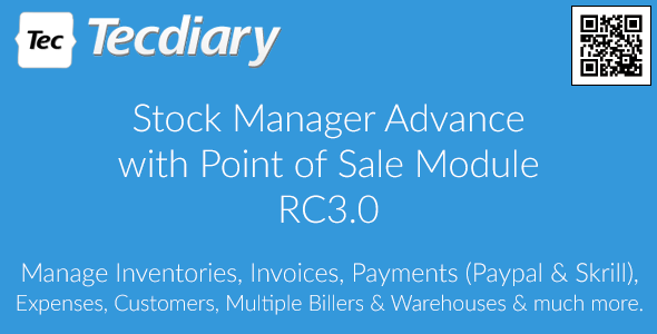 Stock Manager Advance with Point of Sale Module v3.0.2.23 PHP Script Download