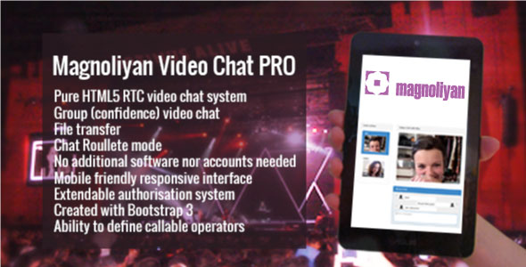 Magnoliyan Video Chat PRO v1.13.0 PHP Script Download