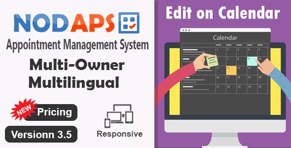 Appointment Management System – NodAPS PHP Script Download