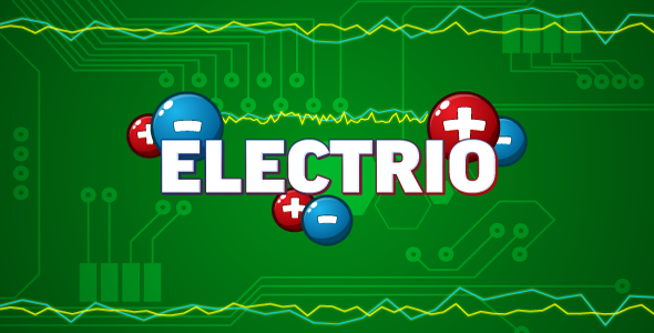 Electrio – HTML5 logic game. Construct 2 (.capx) PHP Script Download