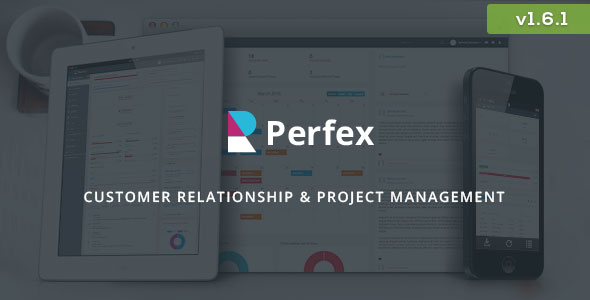 Perfex v1.6.1 – Powerful Open Source CRM PHP Script Download